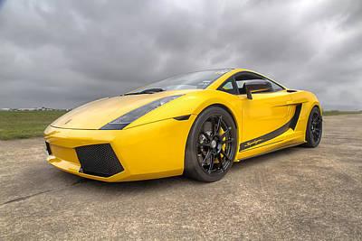 Lamborghini Gallardo Superleggera Art Print