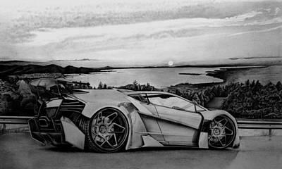 Lamborghini  Original by Gary Reising