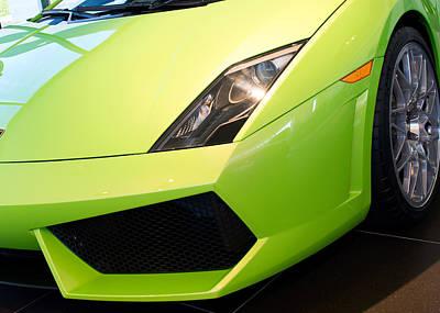 Photograph - Lamborghini Huracan 012615 by Rospotte Photography