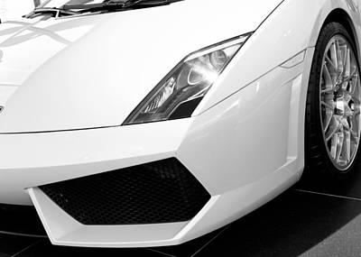 Photograph - Lamborghini Huracan Bw 012515 by Rospotte Photography