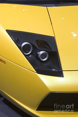 Photograph - Lamborghini by Jim West
