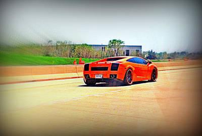 Photograph - Lamborghini by Kay Novy