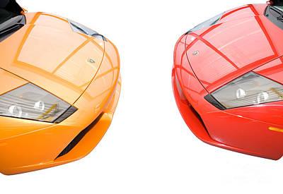 Photograph - Lamborghini Kisses I by Dan Carmichael