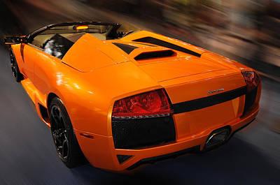 Lamborghini Murcielago 3 Art Print