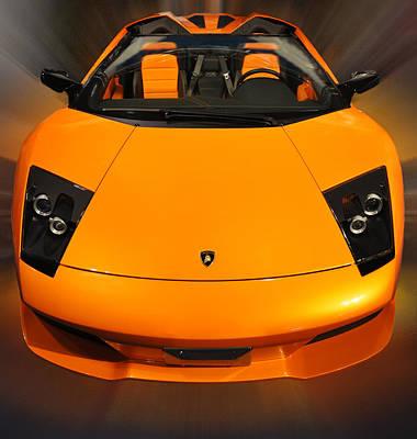 Photograph - Lamborghini Murcielago I by Dragan Kudjerski