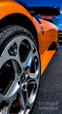 Photograph - Lamborghini Murcielago  by Ken Johnson