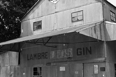 Photograph - Lambre Bros Gin by Audreen Gieger