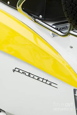 Lambretta Scooter Art Print
