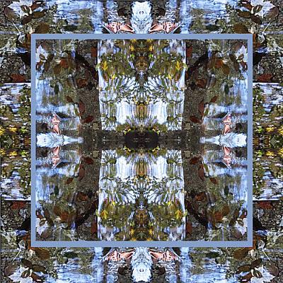 Silk Wall-hanging Tapestry - Textile - Lambton Creek by Nancy Sendell
