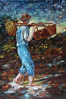 Puerto Rico Painting - Lamento Borincano by Estela Robles Galiano