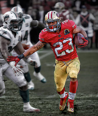 Photograph - Lamichael James- 49ers by Herb Paynter