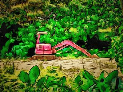 Digital Art - Lamma Island Construction by Yury Malkov