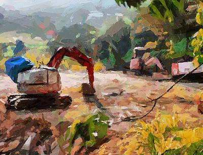 Digital Art - Lamma Island Views Construction by Yury Malkov