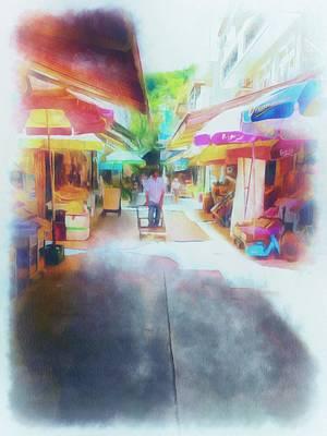 Digital Art - Lamma Village Hong Kong by Yury Malkov