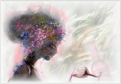 L'amour Perdu Art Print by Freddy Kirsheh