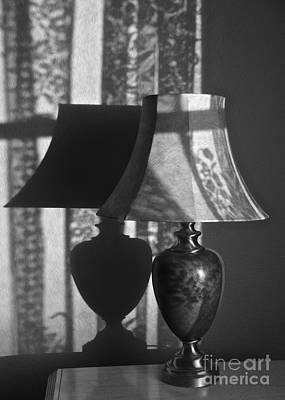 Abstract Works - Lamp and Shadow by Sean Griffin