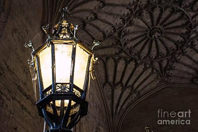 Wall Art - Photograph - Lamp At Oxford by Sara Ricer