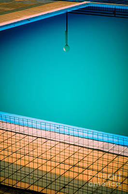Photograph - Lamp In Swimming-pool by Silvia Ganora