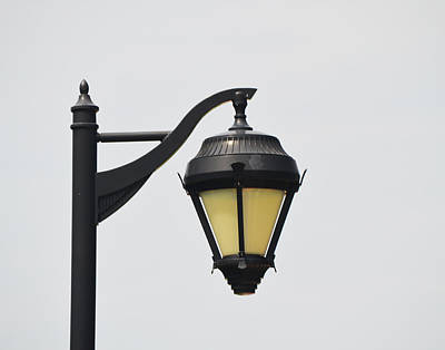 Photograph - Lamp by Maggy Marsh