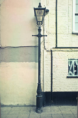 Lamp Worked Photograph - Lamp Post by Tom Gowanlock