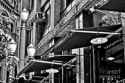 Photograph - Lamp Posts And Classic Architecture In Sao Paulo by Carlos Alkmin