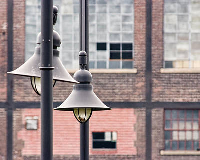 Photograph - Lamp Posts by Michael Dorn