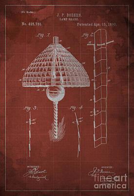 1900 Digital Art - Lamp-shade by Pablo Franchi