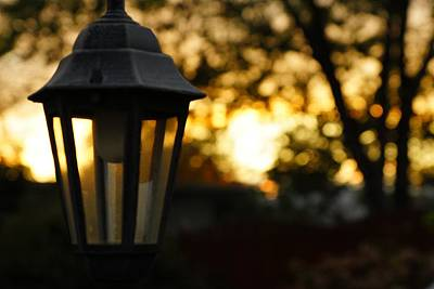 Sun Photograph - Lamplight by Photographic Arts And Design Studio