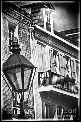 Photograph - Lamppost In The French Quarter by Kathleen K Parker