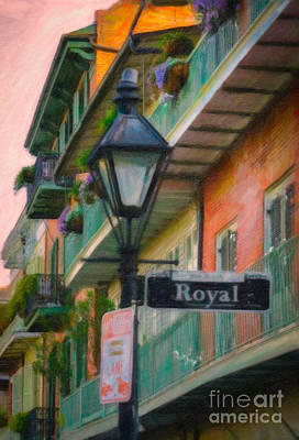 Photograph - Lamppost On Royal St. Nola by Kathleen K Parker