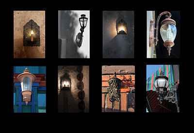 Photograph - Lamps And Lanterns by Mary Bedy