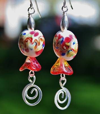 Photograph - Lampwork Buds by Kelly Nicodemus-Miller