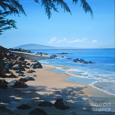 Painting - Lanai From Napili Beach by Suzanne Schaefer
