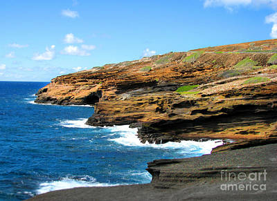 Art Print featuring the photograph Lanai Lookout by Kristine Merc