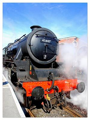 Photograph - Lancashire Fusilier 45407 by The Creative Minds Art and Photography