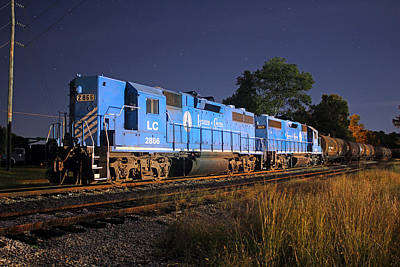 Photograph - Lancaster And Chester Gp38ac 2866 by Joseph C Hinson Photography
