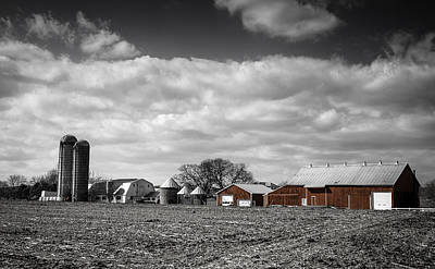 Photograph - Lancaster Barn by Dave Hall