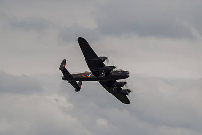 Photograph - Lancaster Bomber - Raf Battle Of Britain Memorial Flight by Scott Lyons