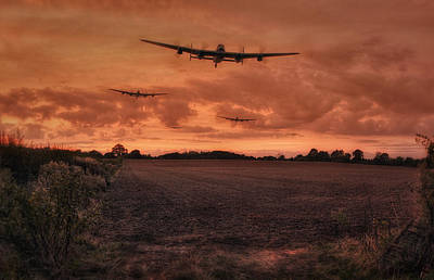Canadian Heritage Photograph - Lancaster Bomber Sorte by Jason Green