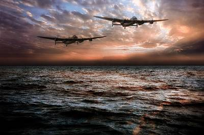 Canadian Heritage Photograph - Lancaster Bombers by Jason Green