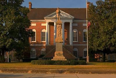 Photograph - Lancaster Courthouse South Carolina by Bob Pardue