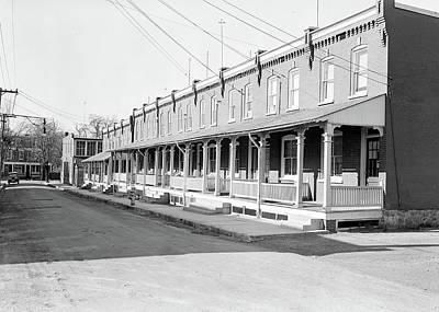 Lancaster, Pennsylvania - Housing. Moderately Priced Homes Art Print