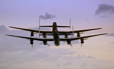 Canadian Heritage Photograph - Lancasters  by Jason Green