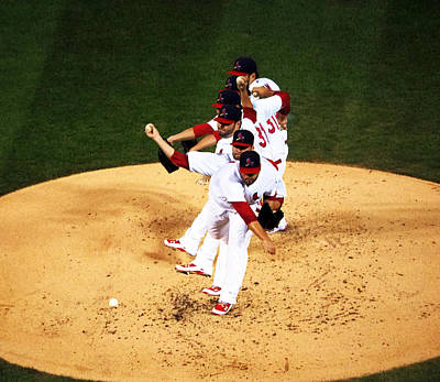 Lance Lynn Pitches Art Print