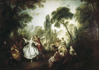 1690 Photograph - Lancret, Nicolas 1690-1743. La Camargo by Everett