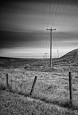 Photograph - Land Line by Kim Aston