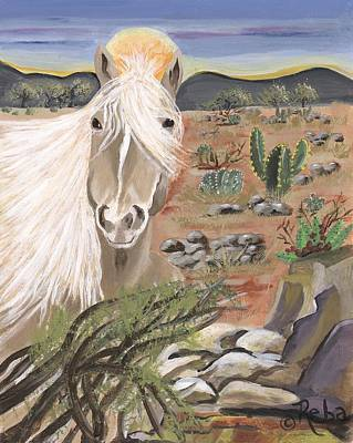 Land Of Enchantment Painting - Land Of Enchantment by Reba Baptist