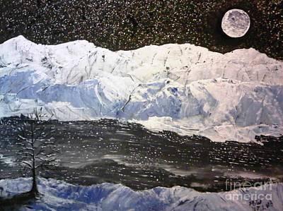Land Of Ice Art Print