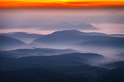 Rhodope Mountains Photograph - Land Of Mists by Evgeni Dinev