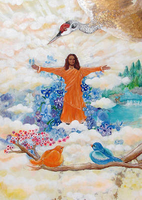 Yogananda Painting - Land Of Mystery by Ashleigh Dyan Bayer